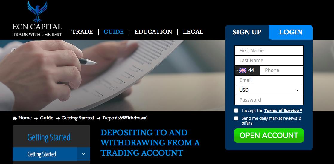 ecn-capital-website