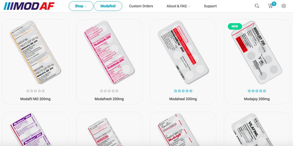 ModAF-Website-Shop